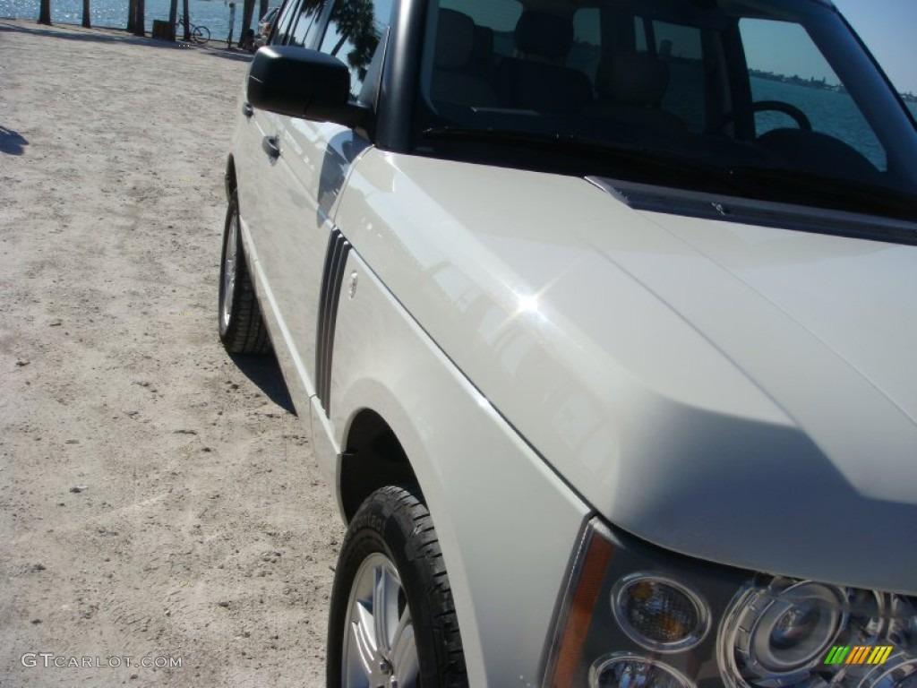2006 Range Rover HSE - Chawton White / Ivory/Aspen photo #9