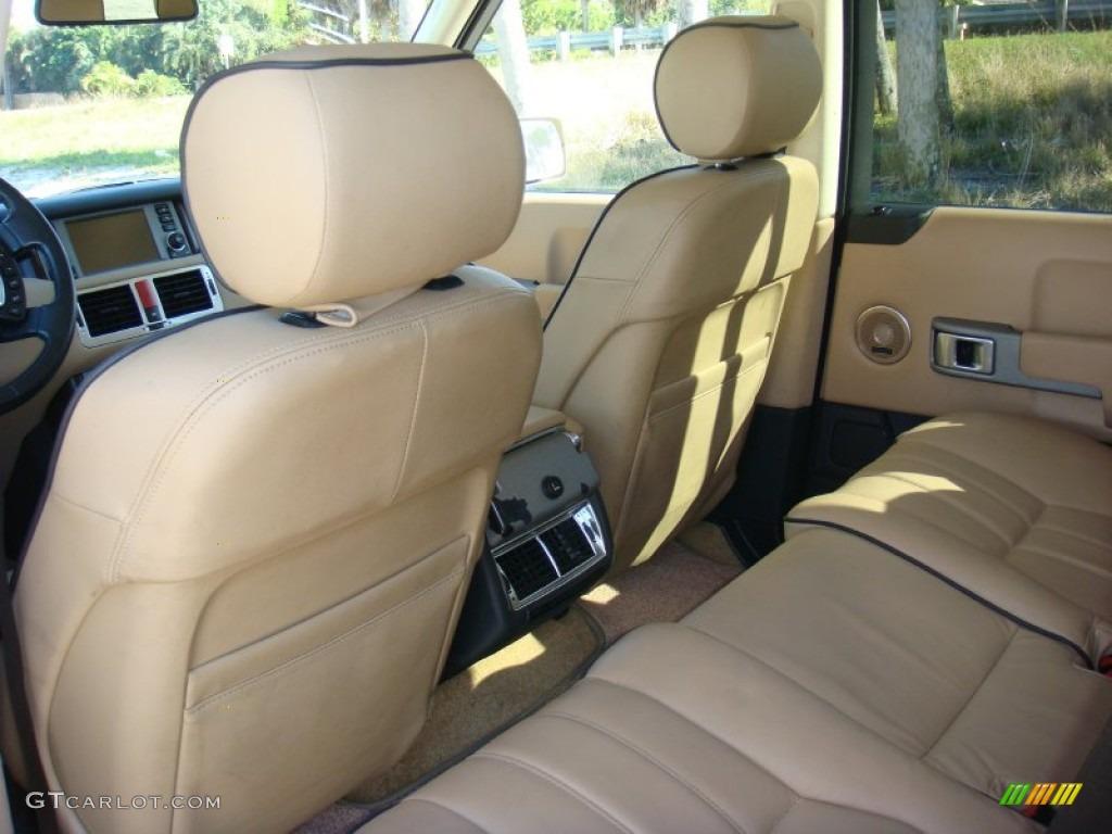 2006 Range Rover HSE - Chawton White / Ivory/Aspen photo #16