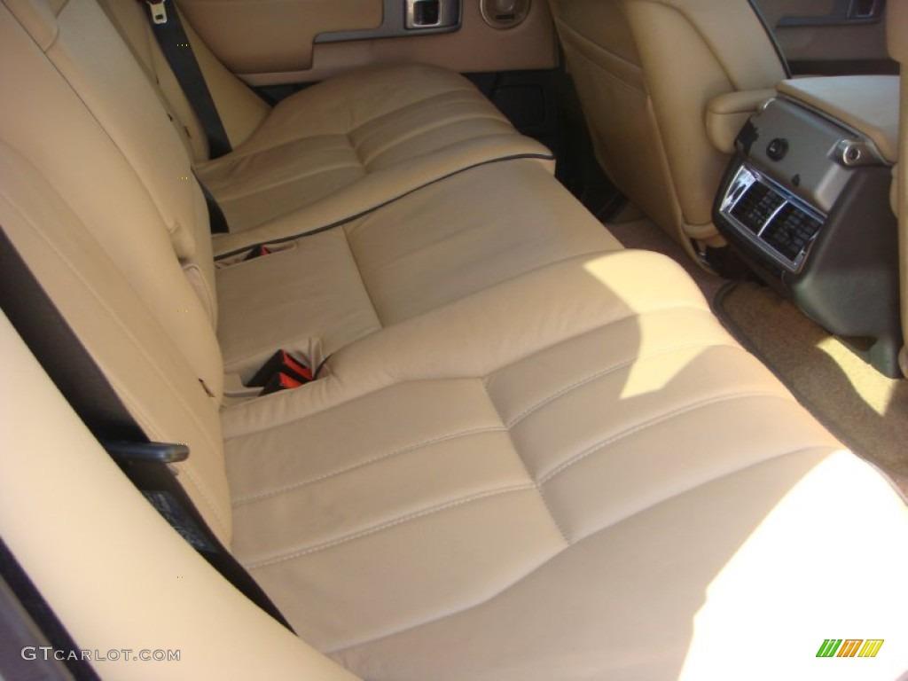 2006 Range Rover HSE - Chawton White / Ivory/Aspen photo #22