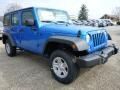 Hydro Blue Pearl 2015 Jeep Wrangler Unlimited Gallery