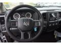 Black/Diesel Gray Steering Wheel Photo for 2015 Ram 1500 #102518369