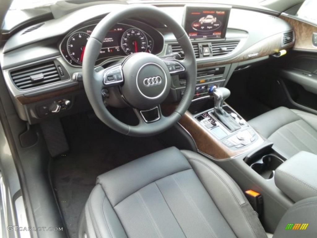 Black Interior 2015 Audi A7 3 0t Quattro Prestige Photo