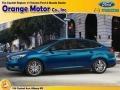 2015 Blue Candy Metallic Ford Focus SE Hatchback #102509380