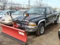 2001 Black Dodge Dakota Sport Club Cab 4x4 #102509275