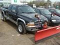 2001 Black Dodge Dakota Sport Club Cab 4x4  photo #3