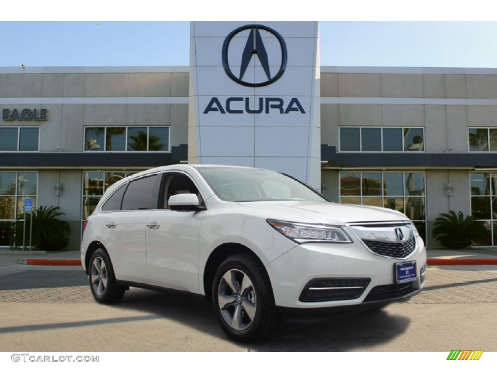2016 white diamond pearl acura mdx 102509120 gtcarlot. Black Bedroom Furniture Sets. Home Design Ideas