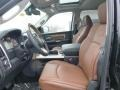 2015 Ram 1500 Black/Cattle Tan Interior Front Seat Photo