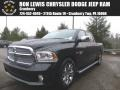 Brilliant Black Crystal Pearl 2015 Ram 1500 Laramie Limited Crew Cab 4x4