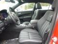 2015 Chrysler 300 Black Interior Front Seat Photo