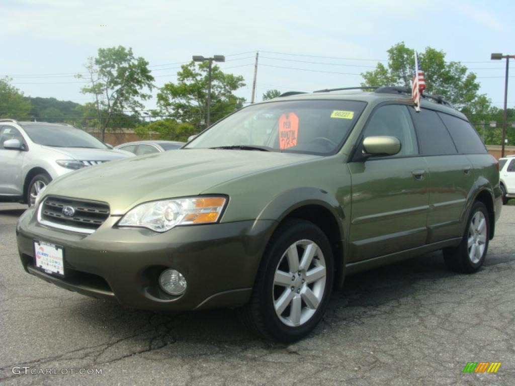 2006 willow green opalescent subaru outback limited. Black Bedroom Furniture Sets. Home Design Ideas