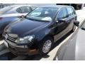 Black 2012 Volkswagen Golf 4 Door