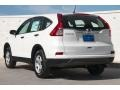 2015 White Diamond Pearl Honda CR-V LX AWD  photo #2