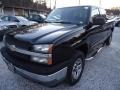 Black 2005 Chevrolet Silverado 1500 Z71 Extended Cab 4x4