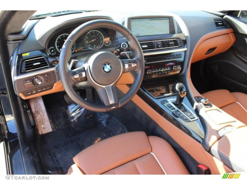 BMW Individual Amaro Brown Interior 2014 6 Series 650i XDrive Coupe Photo 102647790