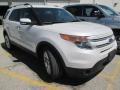 White Platinum 2014 Ford Explorer Limited