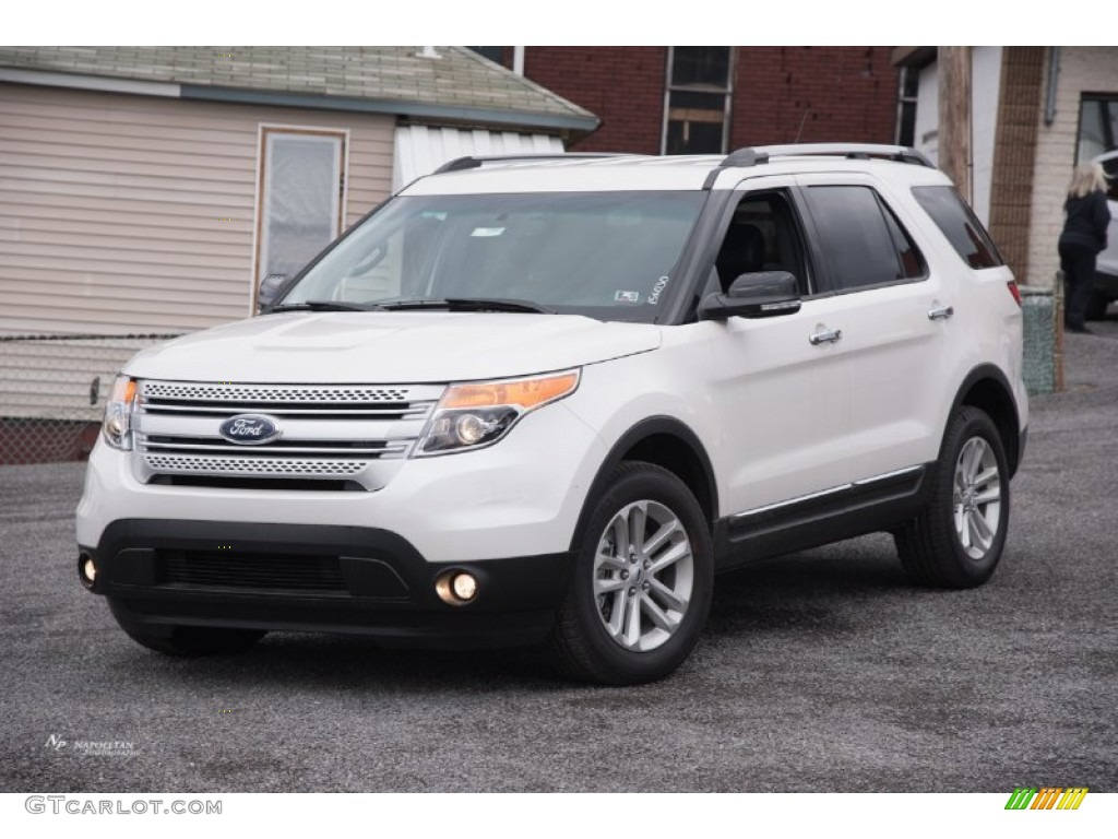 2015 white platinum ford explorer xlt 4wd 102644435