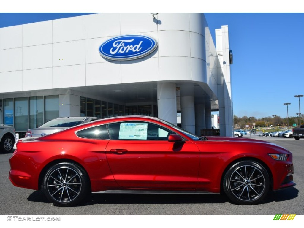 2015 Mustang Ecoboost Premium Convertible Ruby Red