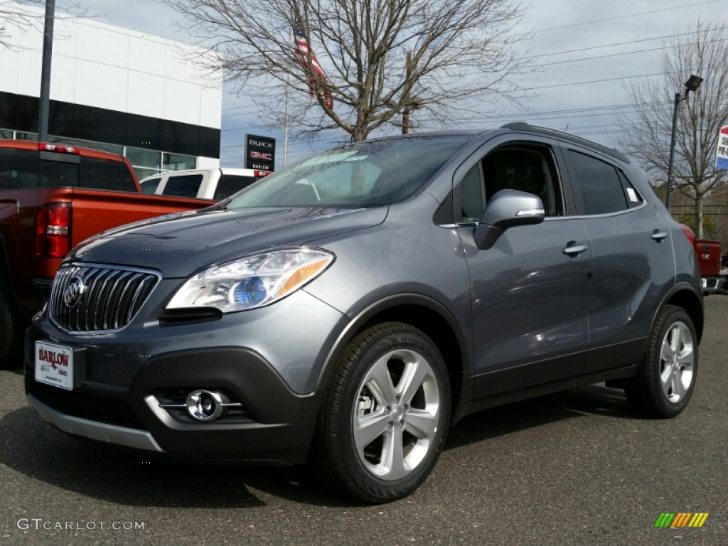 2015 Satin Steel Gray Metallic Buick Encore Convenience ...