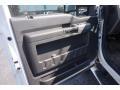 2011 White Platinum Metallic Tri-Coat Ford F250 Super Duty Lariat Crew Cab 4x4  photo #11