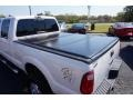 2011 White Platinum Metallic Tri-Coat Ford F250 Super Duty Lariat Crew Cab 4x4  photo #14