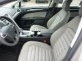 Earth Gray Front Seat Photo for 2015 Ford Fusion #102753721