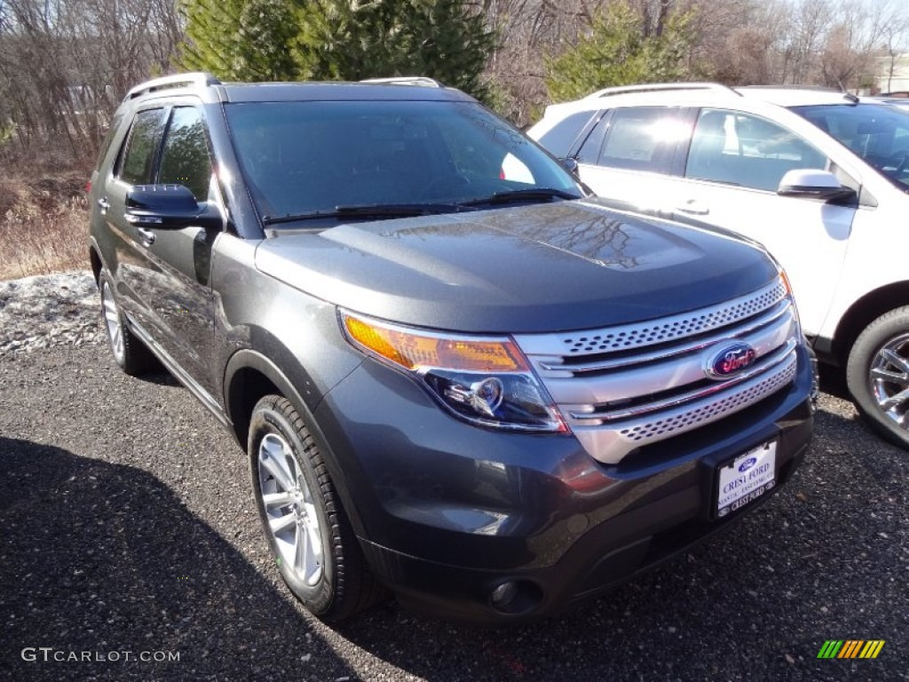 2015 ford explorer xlt 4wd magnetic color charcoal black interior 2015