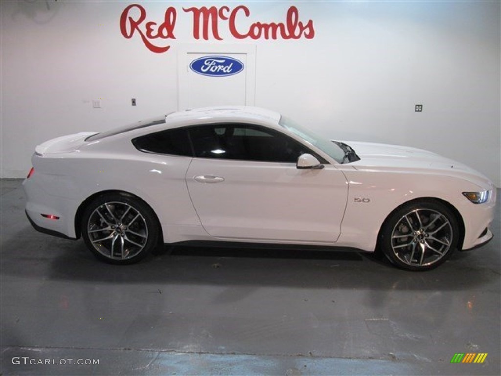 2015 mustang gt premium coupe oxford white red line photo 6 - Ford Mustang Gt 2015 White