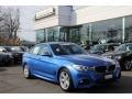 Estoril Blue 2014 BMW 3 Series 335i xDrive Gran Turismo