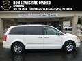 Stone White 2008 Chrysler Town & Country Limited