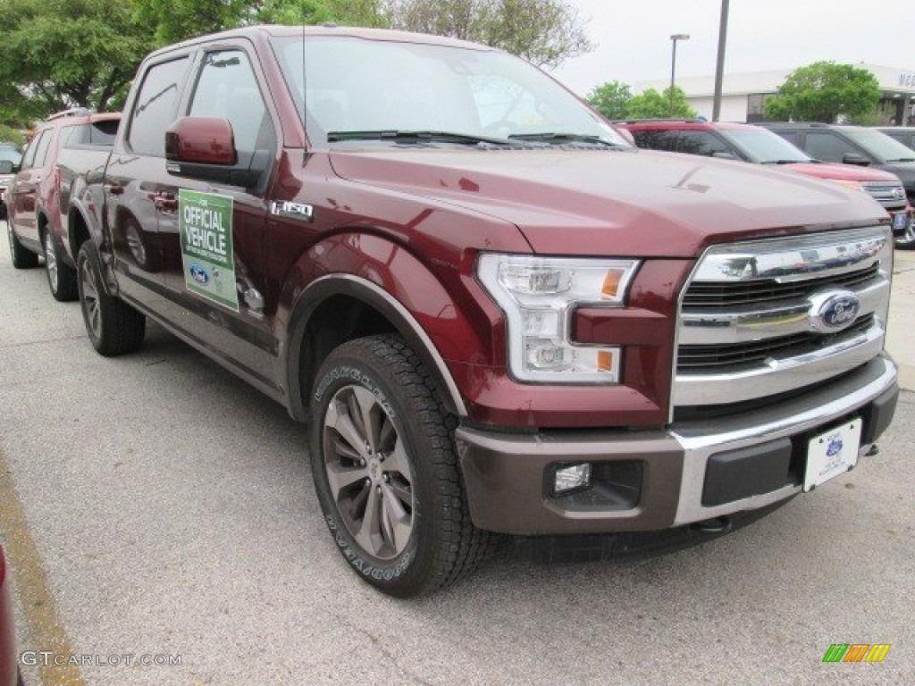 2015 bronze fire metallic ford f150 king ranch supercrew 4x4 102761092 car. Black Bedroom Furniture Sets. Home Design Ideas