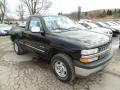 2000 Onyx Black Chevrolet Silverado 1500 LS Regular Cab 4x4  photo #4