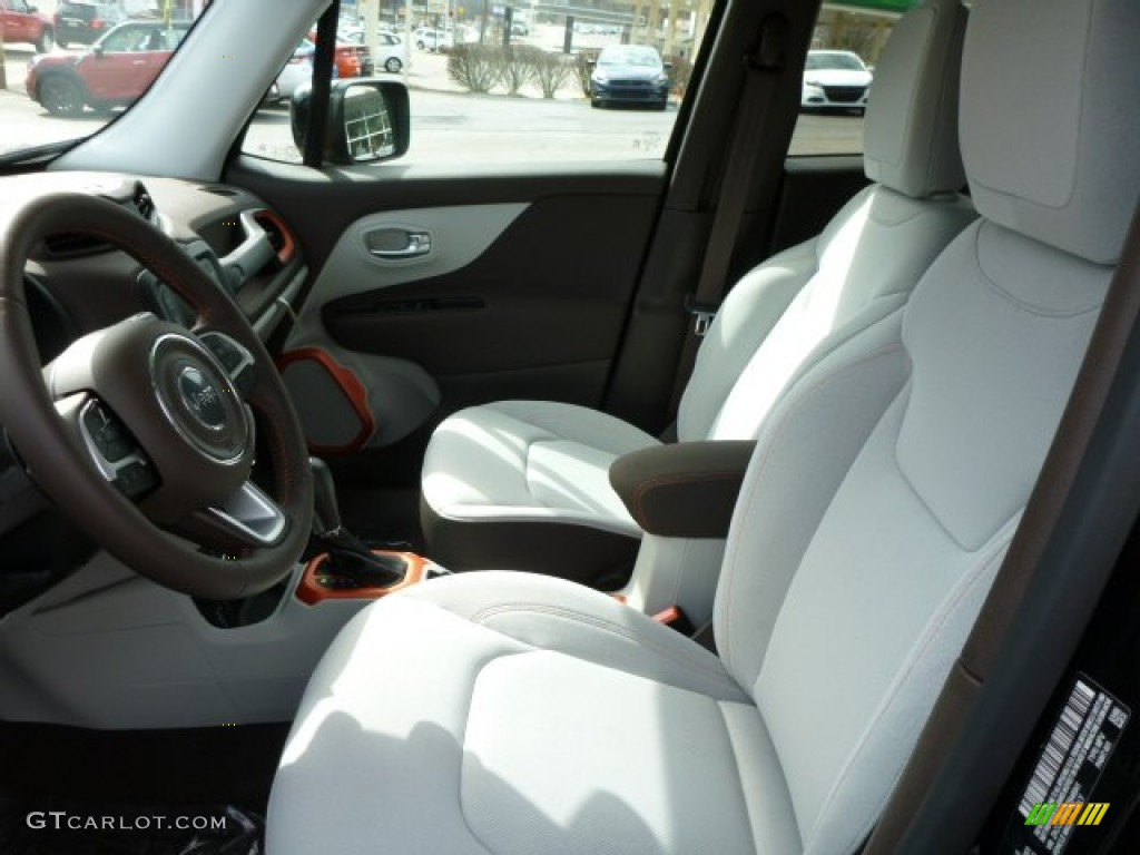 Bark Brown/Ski Gray Interior 2015 Jeep Renegade Latitude ...