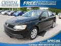 Black 2012 Volkswagen Jetta S Sedan