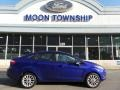 Performance Blue 2014 Ford Fiesta SE Sedan