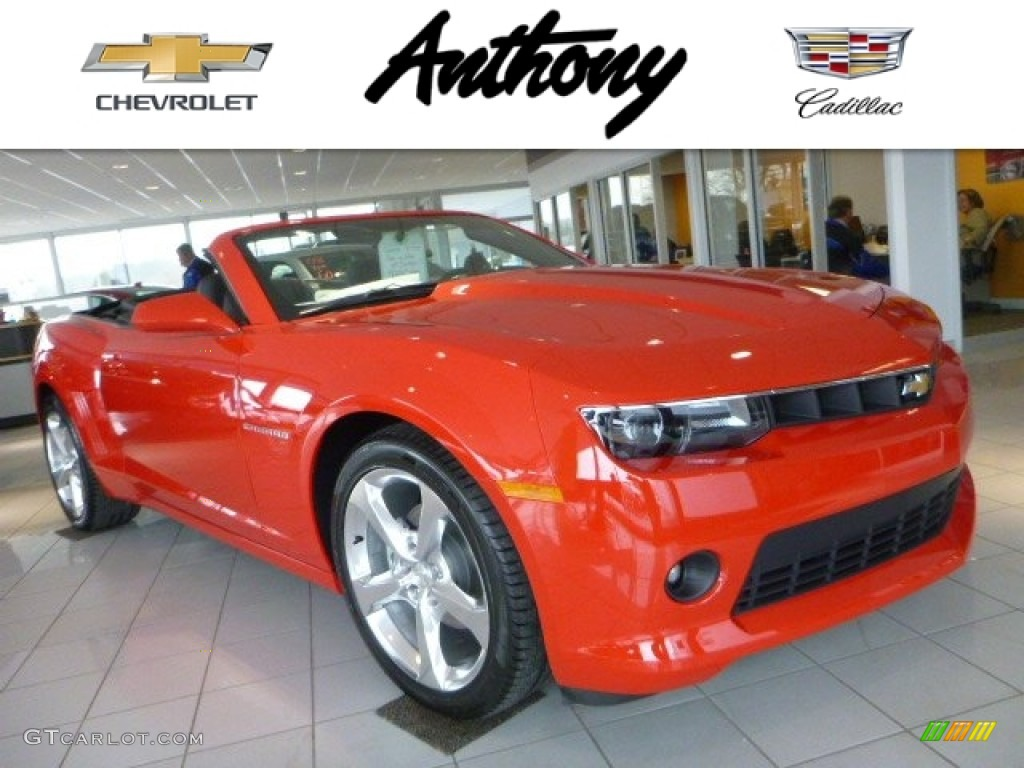 2015 red hot chevrolet camaro lt rs convertible 102845624 car color galleries. Black Bedroom Furniture Sets. Home Design Ideas