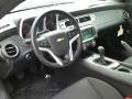 Black Prime Interior Photo for 2015 Chevrolet Camaro #102850962