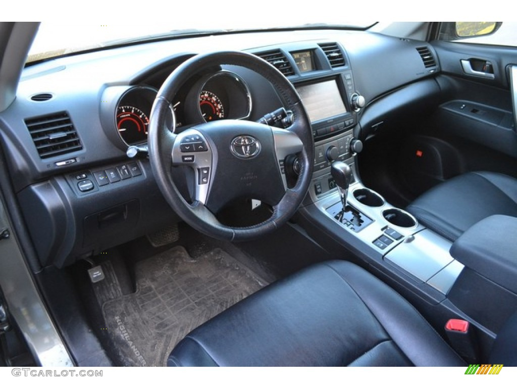 2012 Toyota Highlander Se 4wd Interior Color Photos