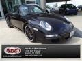 Black 2007 Porsche 911 Carrera S Coupe