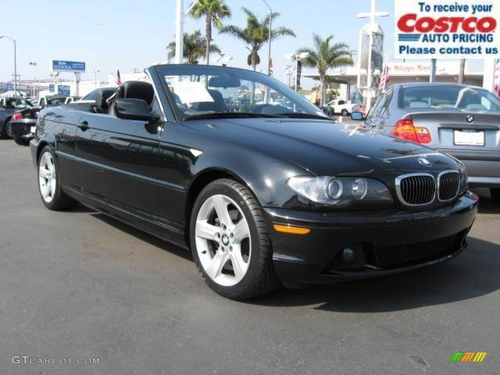 Black Sapphire Metallic BMW Series I Convertible - 2005 bmw 325i convertible