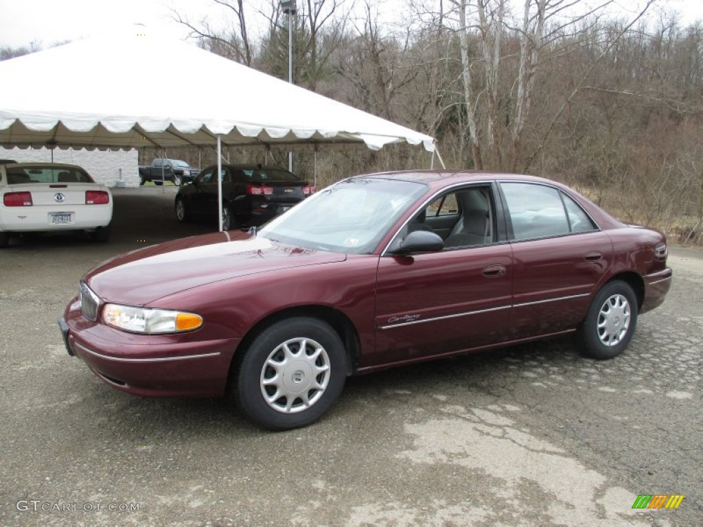 bordeaux red pearl 2001 buick century custom exterior. Black Bedroom Furniture Sets. Home Design Ideas