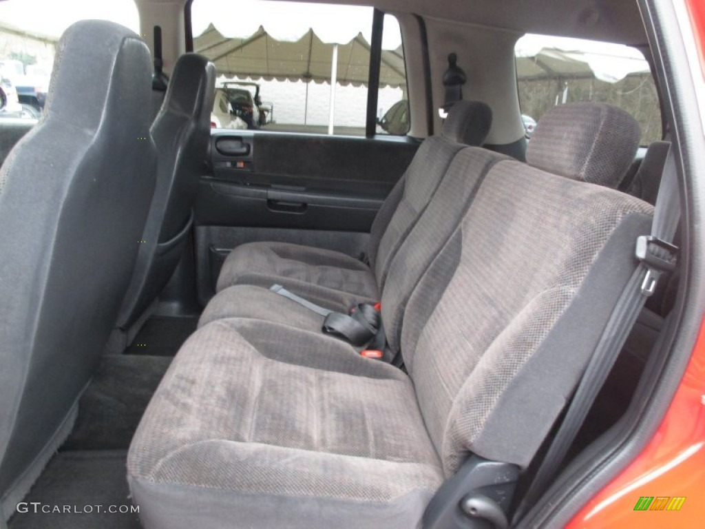 2002 dodge durango slt 4x4 rear seat photo 102867720. Black Bedroom Furniture Sets. Home Design Ideas