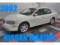Glacier White Pearl 2002 Nissan Maxima SE