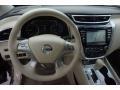 2015 Nissan Murano Cashmere Interior Dashboard Photo