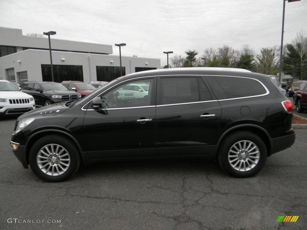 2012 Carbon Black Metallic Buick Enclave Awd 102884717 Car Color Galleries