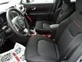 Front Seat of 2015 Renegade Trailhawk 4x4