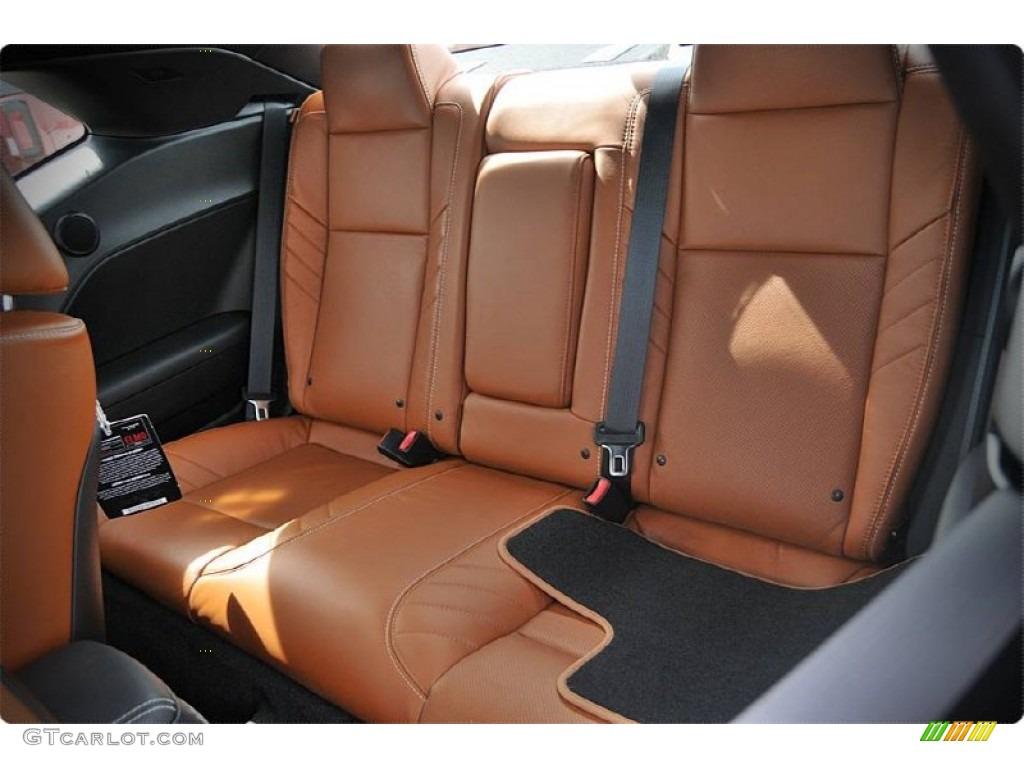 Black Sepia Interior 2015 Dodge Challenger Srt Hellcat Photo