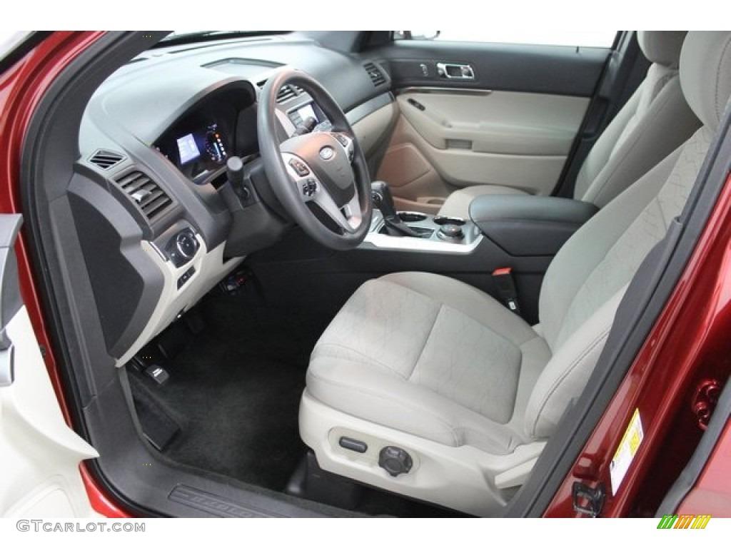 2013 Ford Explorer 4WD Interior Color Photos