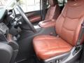 Kona Brown/Jet Black 2015 Cadillac Escalade Interiors