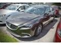 Front 3/4 View of 2016 Mazda6 Grand Touring