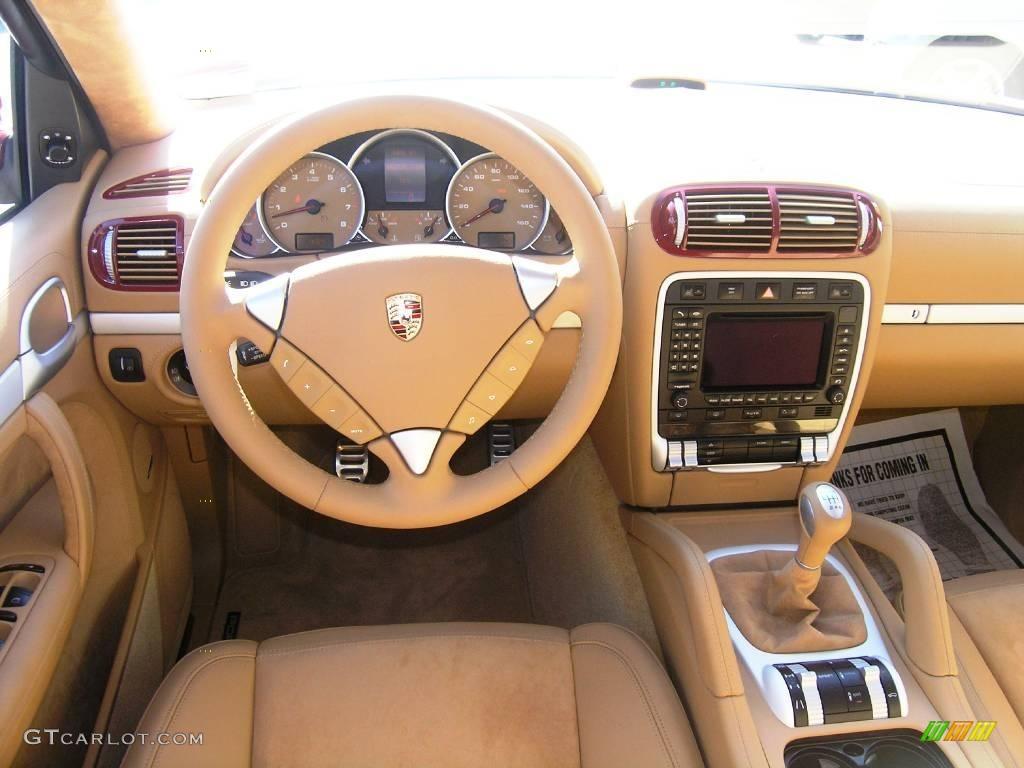 Sand Beige Full Leather Interior 2008 Porsche Cayenne Gts Photo 1029502